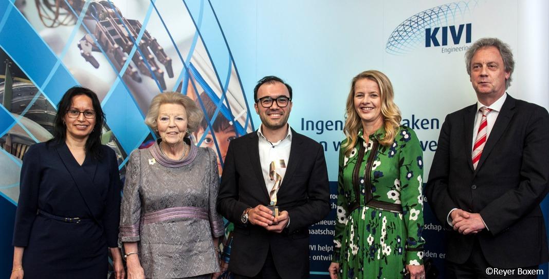 Kinergizer's CTO wins Prins Friso Engineering Award